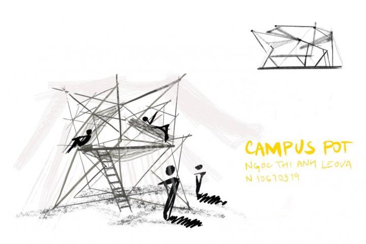 Ngoc Thi Anh Leovoá - Campus_pot odpočívárna