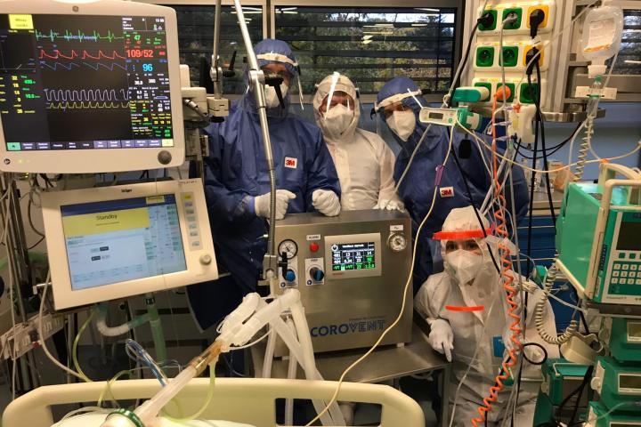Ústí nad Labem – foto: MUDr. Josef Škola, primář Kliniky anesteziologie, perioperační a intenzivní medicíny Masarykovy nemocnice v Ústí nad Labem