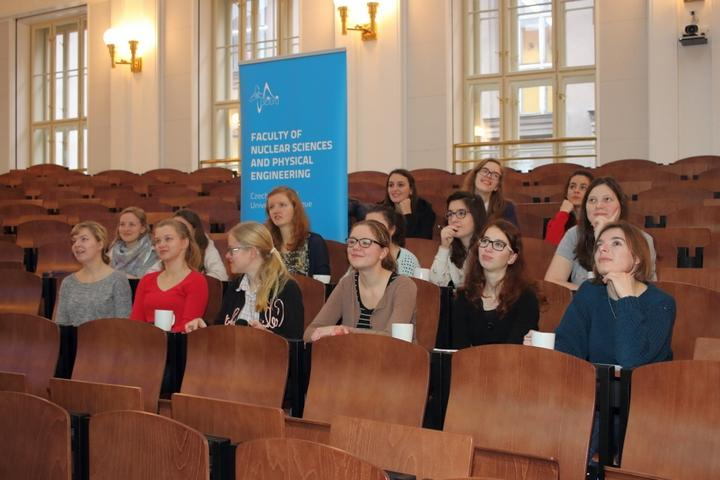 Faculty of Nuclear Sciences and Physical Engineering supported the ...